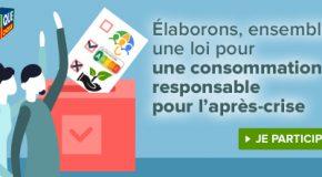 Consultation des consommateurs
