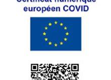Certificat Covid numérique européen